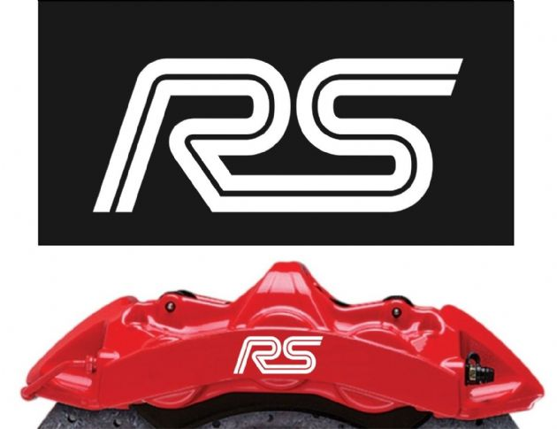Ford RS Brake Caliper Decals